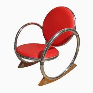 Rocking Chair par Verner Panton pour Ycami Edizioni, Italie, 1990s