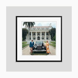 Donald Leas Oversize C Print Framed in Black by Slim Aarons