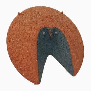 Animale fantastico in ceramica di Fior Candido, anni '80