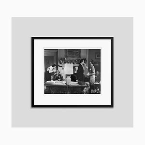 Touch up Silver Gelatin Resin Print Framed in Black by Hulton Archive
