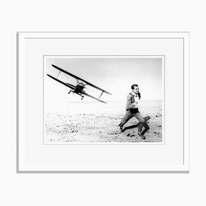 North by Northwest Archival Pigment Print in White von Alamy Archives gerahmt