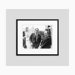 Peck & Hitchcock Archival Pigment Print Framed in Black by Everett Collection