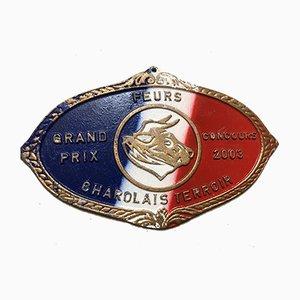Plaque Competition Rouge Agricole Bleue, 2003