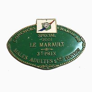 Plaque 3rd Competition Vert de l'Agriculture, 2001