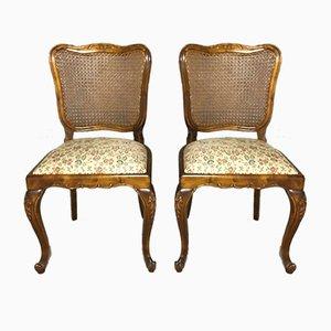 Chaises de Salle à Manger Style Louis XV, 1940s, Set de 6