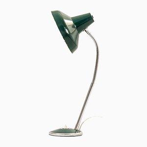 Lampe de Bureau Verte, 1950s