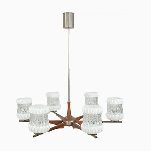 Lámpara de araña vintage, años 70