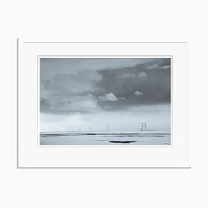 Distance Oversize Archival Pigment Print Framed in White by Tim Graham