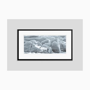 Glacial Patterns Oversize Archival Pigment Print Framed in Black by Tim Graham