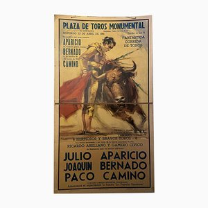 Spanish Bullfight Poster, 1960s