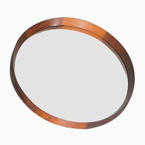 Round Wooden Mirror, 1960s