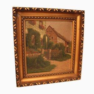 Pittura ad olio di Augusta Wilhelmine Reichelt, XIX secolo