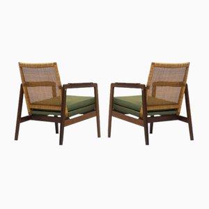 Mid-Century Easy Chairs by P. J. Muntendam for Gebroeders Jonkers Noordwolde, Set of 2
