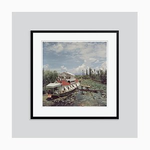 Jhelum River Oversize C Print Framed in Black by Slim Aarons