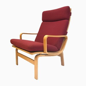 Scandinavian Lounge Chairs by Karl-Erik Ekselius for JOC Vetlanda, 1970s, Set of 2