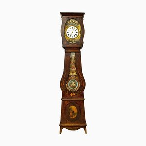19th Century French Empire Comtoise or Grandfather Clock by L. Rouffet, Bayonne