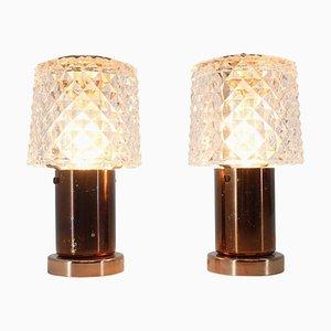 Tischlampen von Kamenicky Senov, 1970er, 2er Set