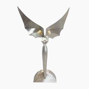 Vintage Angel Object Table Lamp by Reinhard Stubenrauch, 1990s