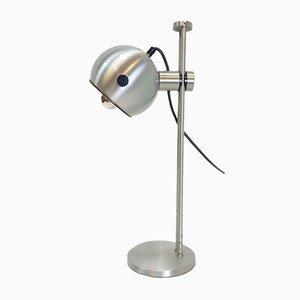 Vintage Aluminium Sphere Desk Lamp, 1970s
