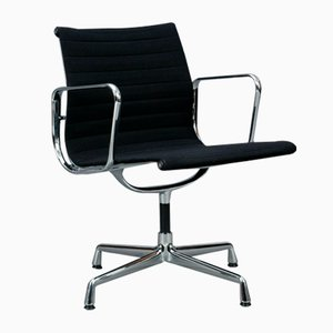 Black Aluminium EA 108 Office Chair from Vitra, 1990s
