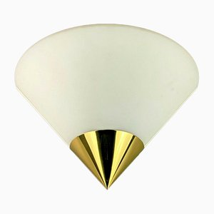 Space Age Wall Light from Limburg Glashutte, 1960s