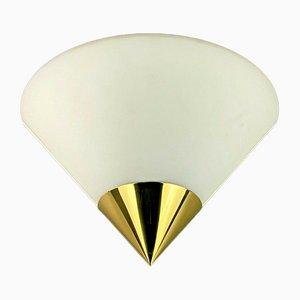 Space Age Wandlampe von Limburg Glashutte, 1960er