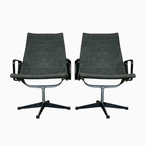 EA 116 Aluminium Group Chairs by Charles & Ray Eames for Herman Miller, 1960s, Set of 2