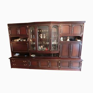 Antique Wooden Wall Unit