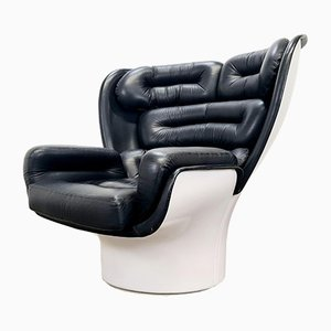 Elda Chair by Joe Colombo for Comfort Italy, 1970s