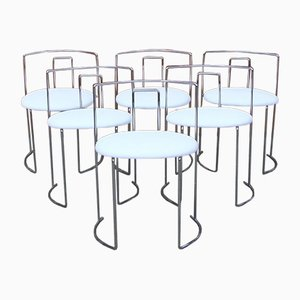 Modern Italian Chairs, 1970s, Set of 6