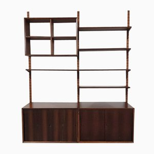 Rosewood Wall Unit by Poul Cadovius for Cado, Denmark, 1960s