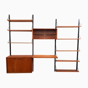Danish Teak Bookshelves by Poul Cadovius for Royal System, 1950s