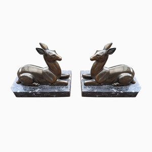Art Deco Bookends, 1930s, Set of 2