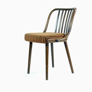 Czechoslovakia Bentwood Dining Chairs by Michael Thonet for Ton, 1960s, Set of 4