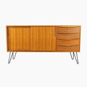 Mid-Century Walnut Veneer Sideboard, 1950s