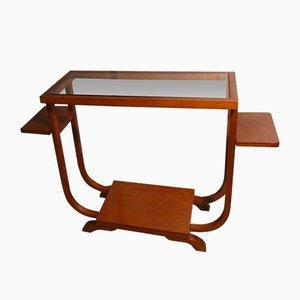 Table Console en Bois Précieux, France, 1920s