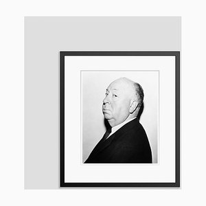 Alfred Hitchcock Archival Pigment Print Framed in Black
