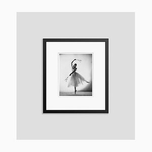Alicia Markova Markova as Giselle Silver Gelatin Resin Print Framed in Black by Baron