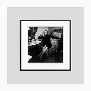 Anita Ekberg Silver Gelatin Resin Print Framed in Black by Bob Haswell