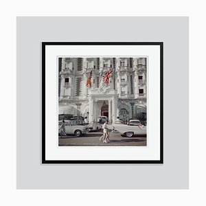 Carlton Hotel Oversize C Print Framed in Black by Slim Aarons