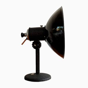 Industrial Czechoslovak Adjustable Table Lamp, 1960s