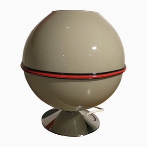 Space Age Italian Murano Glass Table Lamp, 1970s
