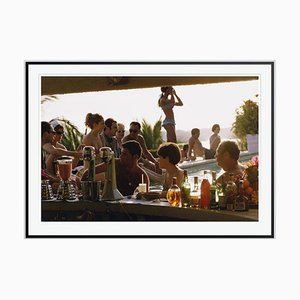 Vila Vera Oversize C Print Framed in Black by Slim Aarons
