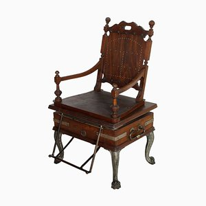 19th Century Massage Armchair from Florenz Wien