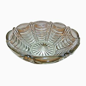 Vintage Glass Bowl from Ząbkowice Steelworks, 1970s