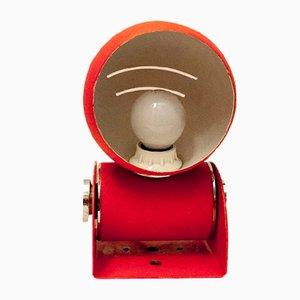 Lampade da tavolo o applique vintage arancioni, Italia, anni '70, set di 2