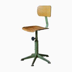 Chaise d'Atelier Pivotante, France, 1950s