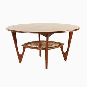 Vintage Danish Rosewood Coffee Table by Kurt Østervig for Jason Møbler, 1950s