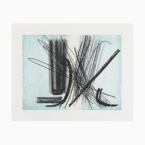 Etching 9 by Hans Hartung, 1953