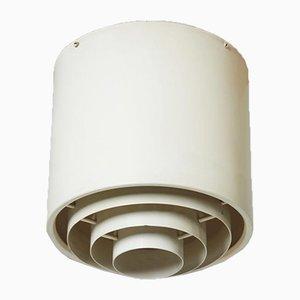 Lampada da soffitto di Alvar Aalto per Idman, Finlandia, anni '50